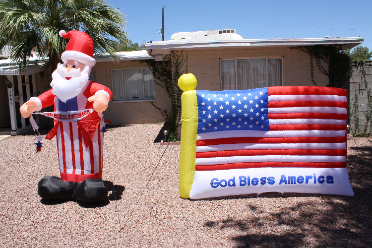 Our 4th of July Display